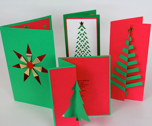 Make Your Own Christmas Cards Birth Of A Notion Birth